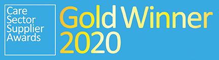 Gold Award - Care Sector Supplier Awards 2020
